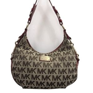 Michael Kors Signature Monogram Hobo